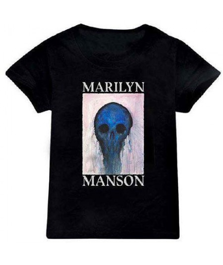 Tricou Copii Marilyn Manson: Halloween Painted Hollywood