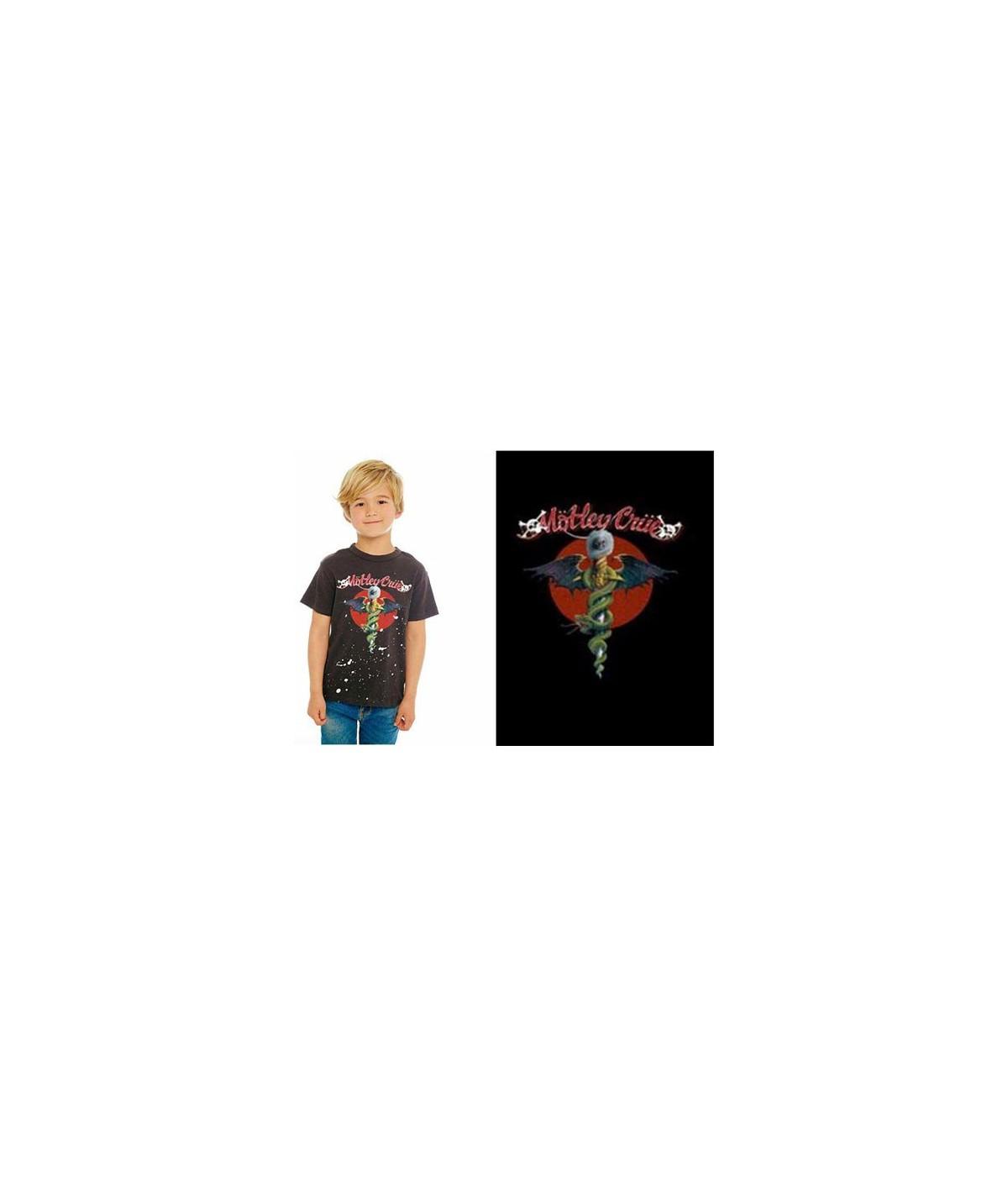 Tricou Copii Motley Crue: Feelgood Red Circle