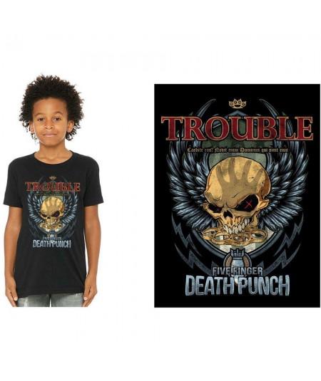 Tricou Copii Five Finger Death Punch: Trouble