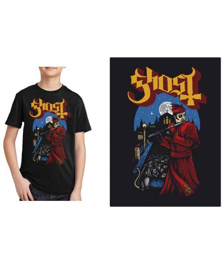 Tricou Copii Ghost: Advanced Pied Piper