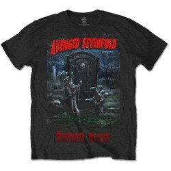 Tricou Avenged Sevenfold: Buried Alive Tour 2012 (Editie Speciala)