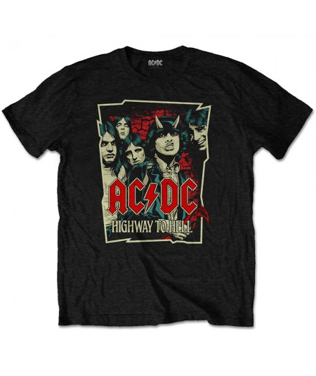 Tricou AC/DC Highway To Hell Sketch