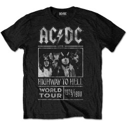 Tricou AC/DC: Highway to Hell World Tour 1979/1980