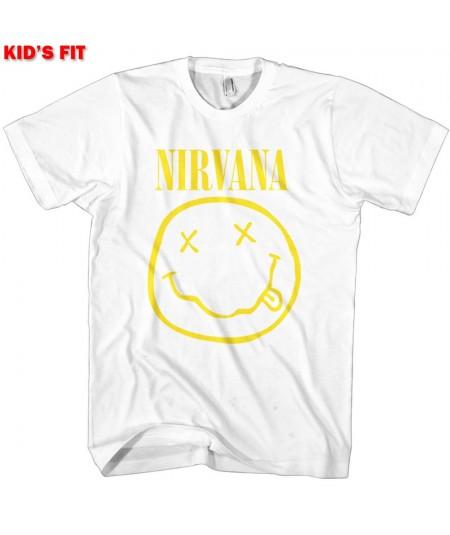 Tricou Copii Nirvana: Yellow Smiley