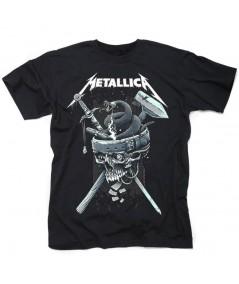 Tricou Unisex Metallica: History White Logo