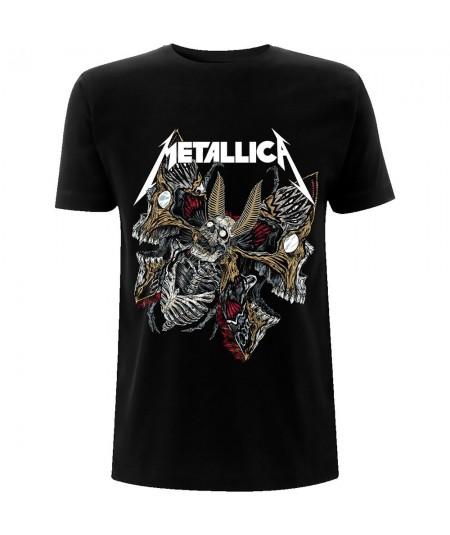 Tricou Unisex Metallica: Skull Moth