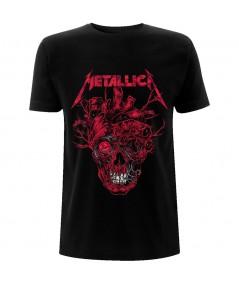 Tricou Unisex Metallica: Heart Skull