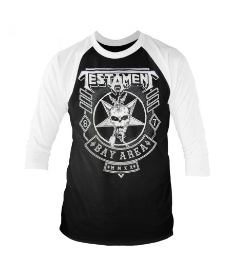 Tricou Maneca 3/4 Testament: Bay Area '87 Europe 2020 Tour