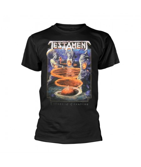Tricou Unisex Testament: Titans Of Creation Europe 2020 Tour