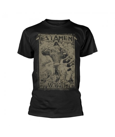 Tricou Unisex Testament: WIII Europe 2020 Tour