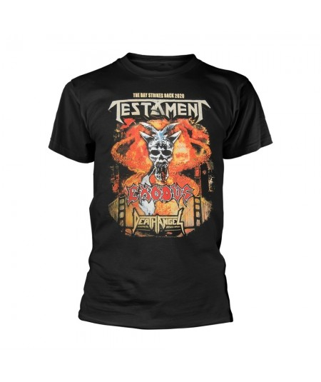 Tricou Unisex Testament: The Bay Strikes Back Europe 2020 Tour