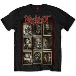 Tricou Slipknot: New Masks