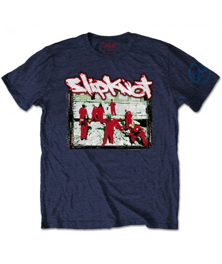 Tricou Unisex Slipknot: 20th Anniversary - Red Jump Suits