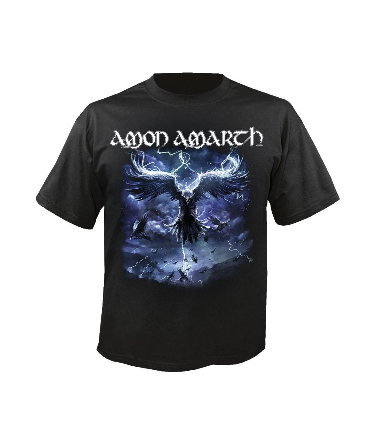 Tricou Unisex Amon Amarth: Raven's Flight