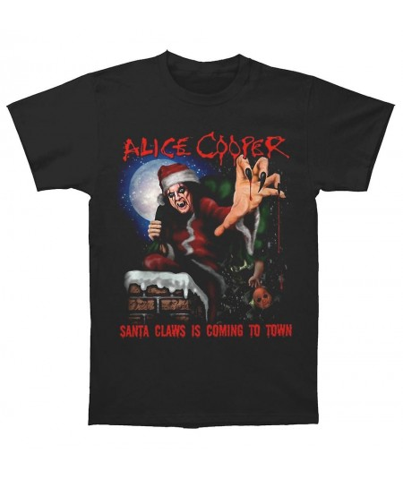 Tricou Unisex Alice Cooper: Santa Claws