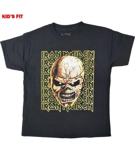 Tricou Copii Iron Maiden: Big Trooper Head