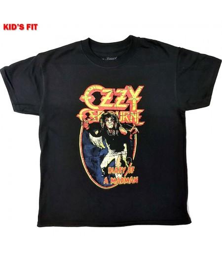 Tricou Copii Ozzy Osbourne: Vintage Diary Of A Madman