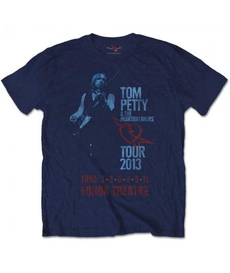 Tricou Unisex Tom Petty & The Heartbreakers: Fonda Theatre