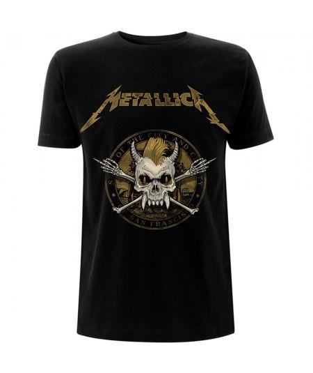 Tricou Unisex Metallica: Scary Guy Seal