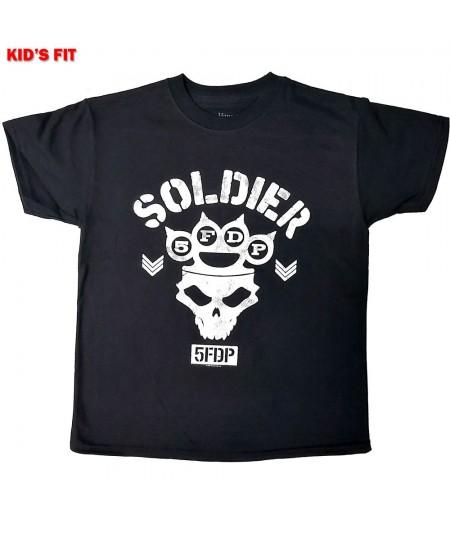 Tricou Copii Five Finger Death Punch: Soldier