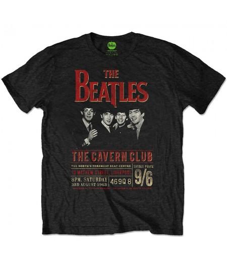 Tricou Eco Unisex The Beatles: Cavern '63