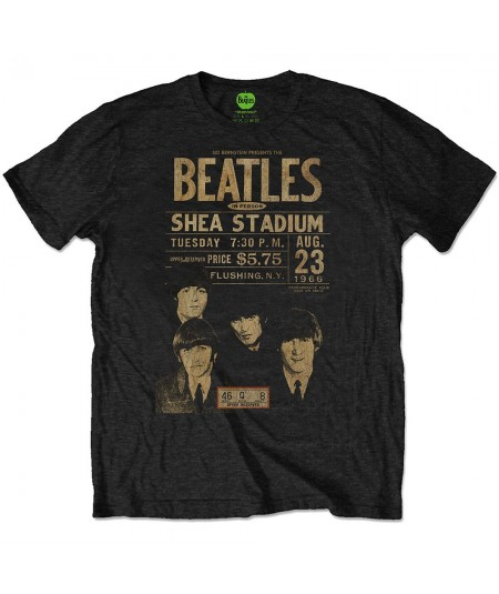 Tricou Eco Unisex The Beatles: Shea '66