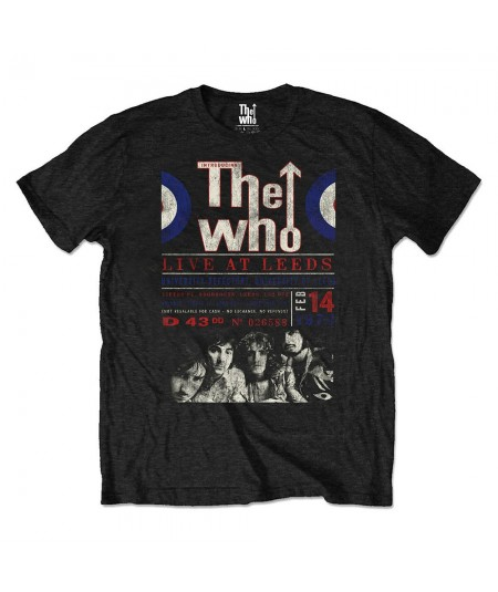 Tricou Eco Unisex The Who: Live At Leeds '70