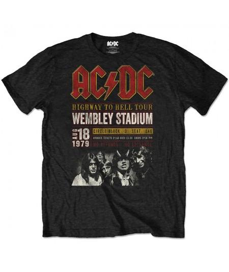 Tricou Eco Unisex AC/DC: Wembey '79