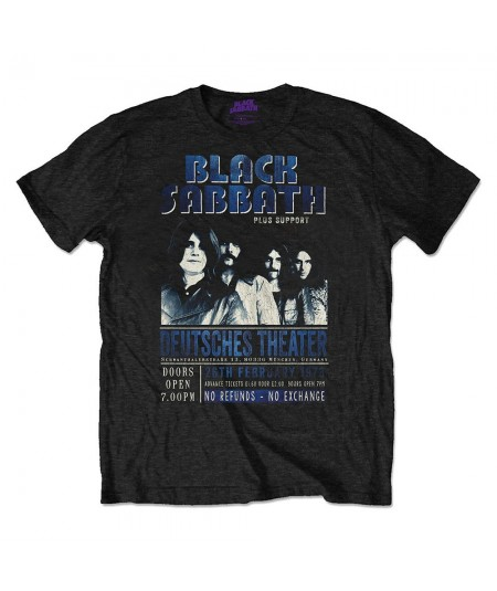 Tricou Unisex Black Sabbath: Deutsches '73