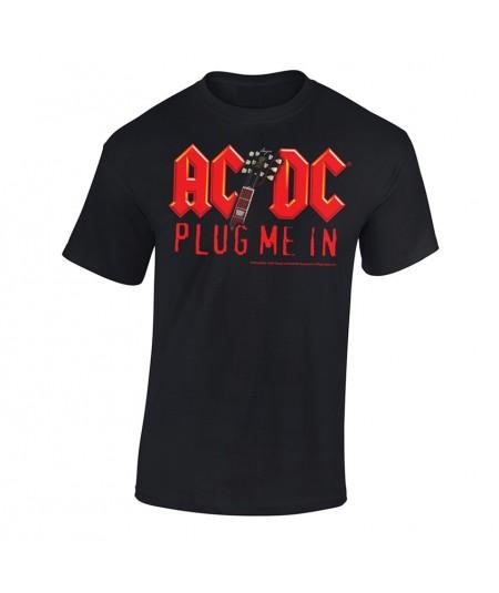 Tricou Unisex AC/DC: Plug Me In