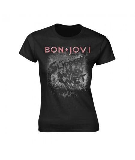 Tricou Dama Bon Jovi: Slippery When Wet Album