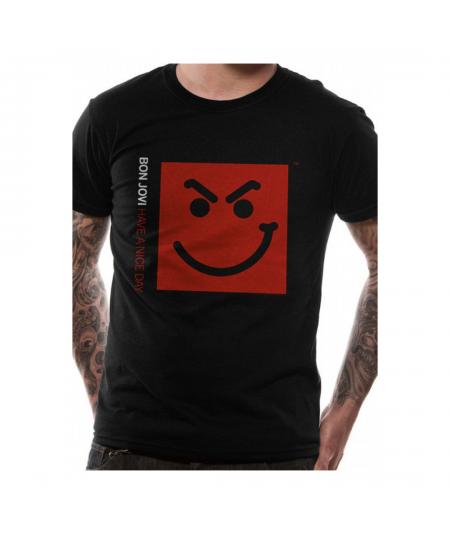 Tricou Unisex Bon Jovi: Smirk