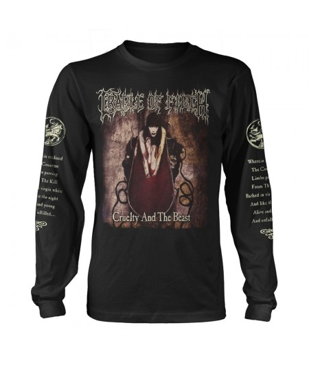 Tricou Maneca Lunga Cradle Of Filth: Cruelty And The Beast