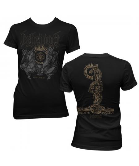Tricou Dama Behemoth: Messe Noir