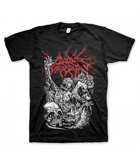 Tricou Unisex Cattle Decapitation: Alone At The Landfill