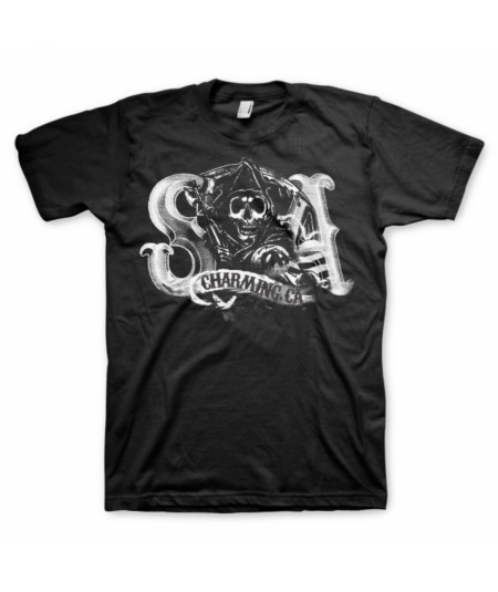 Tricou Unisex Sons Of Anarchy: Charming Reaper