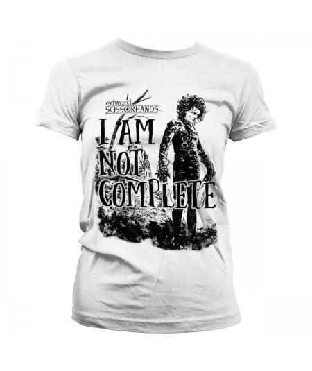 Tricou Dama Edward Scissorhands: I Am Not Complete