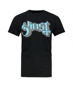 Tricou Unisex Ghost: Blue/Grey Keyline Logo