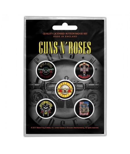 Insigne Guns N' Roses: Bullet Logo