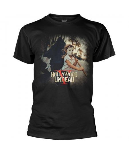 Tricou Unisex Hollywood Undead: Five