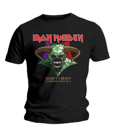 Tricou Unisex Iron Maiden: Legacy Of The Beast Tour 2018