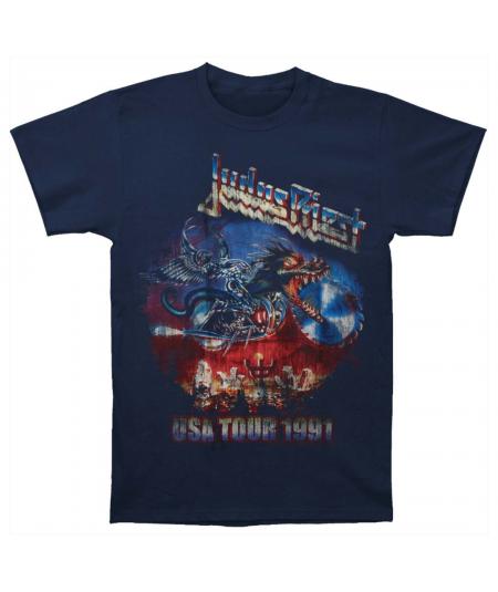 Tricou Unisex Judas Priest: Painkiller US Tour 91