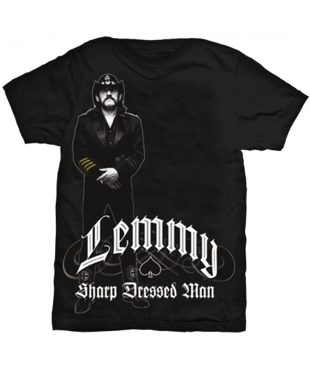 Tricou Unisex Lemmy: Sharp Dressed Man