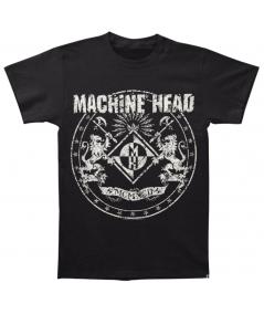 Tricou Unisex Machine Head: Classic Crest