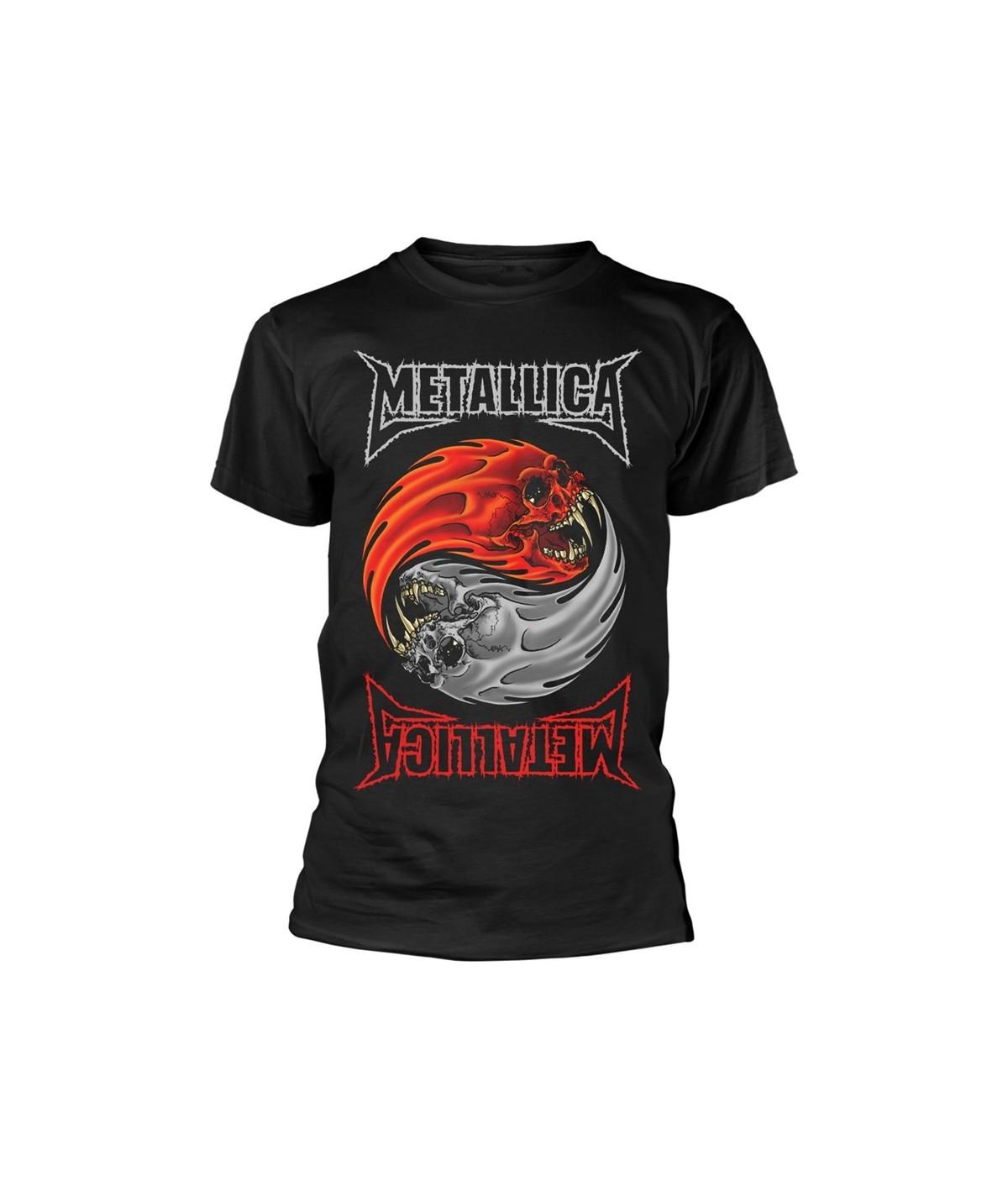 Tricou Unisex Metallica: Yin Yang