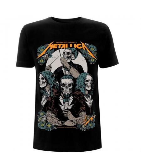 Tricou Unisex Metallica: S&M 2 After Party