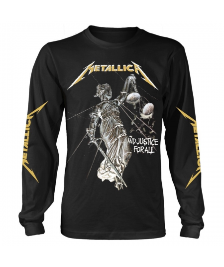 Tricou Maneca Lunga Metallica: ... And Justice For All