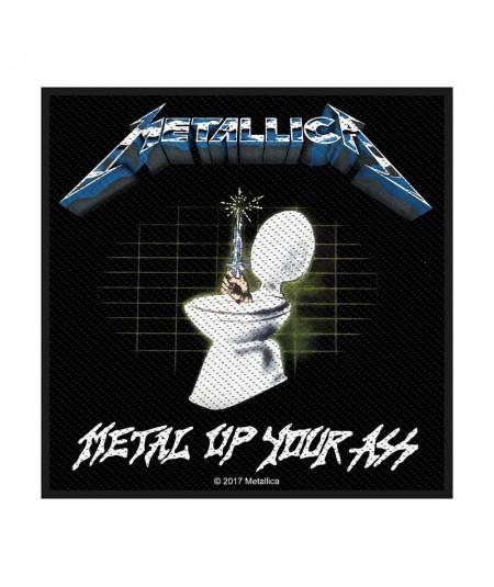 Patch Metallica: Metal Up Your Ass