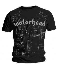 Tricou Unisex Motorhead: Leather Jacket