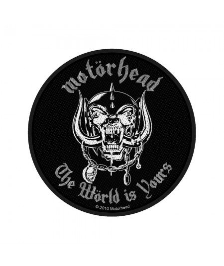 Patch Motorhead: The World Is Yours